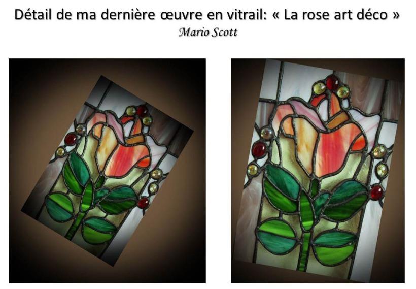 Ma rose art déco